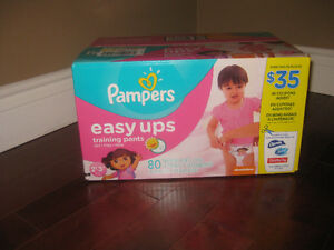 Pampers Easy Ups New Box of 80 - Size 2T-3T