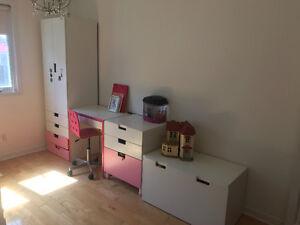 Ikea girl bedroom set
