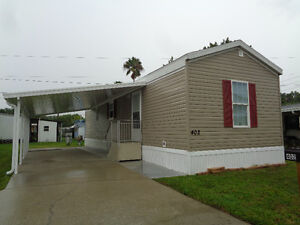 NEW FURNISHED MINI HOME IN ST PETERSBURG FL PET FRIENDLY POOL