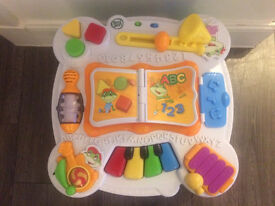 Leap frog learn and groove activity table