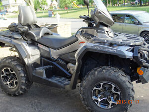 CAN-AM OUTLANDER MAX LIMITED 1000..TRÈS PROPRE! 4295 KM!