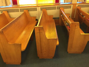 Church benches for sale