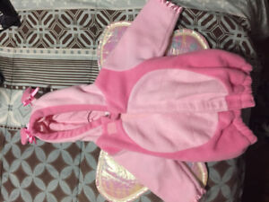 Pink butterfly outfit 0-6 months Old Navy