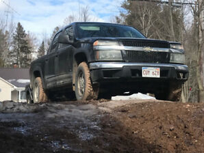 06 Chevy Colorado 4x4 crew - low km - Reduced price