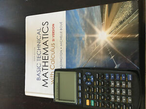 BCIT MATH 1013-BASIC TECHNOLOGY WITH CALCULUS- tenth edition