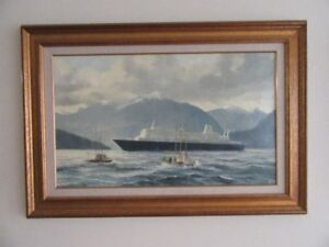 Robert McVittie, local Marine Artist paintings