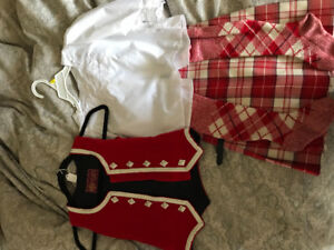 Highland Dance Outfit- size 5-6  excellent condition