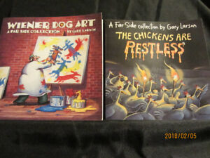 FAR SIDE COLLECTION BY GARY LARSON -Set of 4 Books