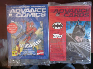 "COMIC / CARD MAGAZINE 1992 - "" ADVANCE COMICS """