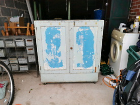 Shabby chic style cupboard