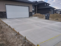 A.B concrete 7.75$ sq ft.Get your driveway done with 7.75$ sqft