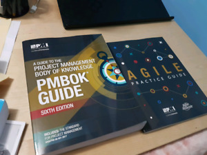 PMBOK GUIDE sixth Ed bundle - PMP course books