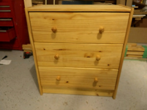 3 drawer chest for sale
