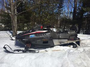 two working snowmobiles for sale