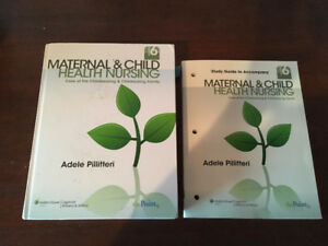 Maternal & Child Health Nursing textbook