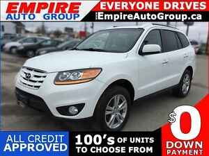 2010 HYUNDAI SANTA FE LIMITED 3.5 | AWD | LEATHER | SUNROOF | MI