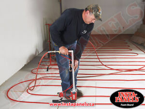 Why heat the concrete when all you need to do is insulate? Belleville Belleville Area image 10