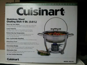 Cuisinart Stainless Steel Chafing Dish BRAND NEW IN BOX