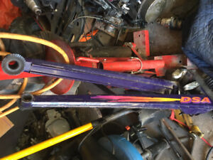 Skidoo trailing arms