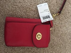 Authentic Coach cellphone holder wallet