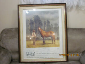 Man O War Autographed Picture