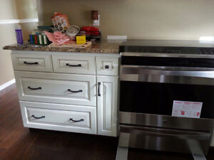 Kitchen remodeling Home Renovations Oak Stairs and railing Kitchener / Waterloo Kitchener Area image 3