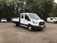 Ford Transit Double Cab Tipper Euro 6 DIESEL MANUAL WHITE (2017)