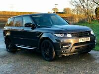 Land Rover Range Rover Sport 3.0 SDV6 (306) HSE Dynamic 2017 Carpathian Grey