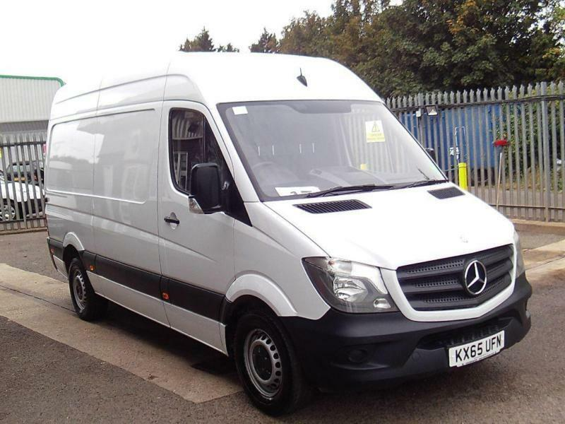 Mercedes-Benz Sprinter 313 CDI MWB 3.5T HIGH ROOF VAN DIESEL MANUAL WHITE (2015)