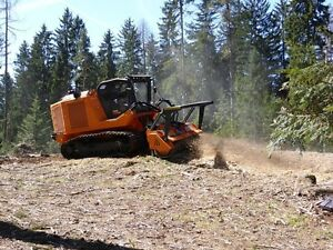 PrimeTech self-propelled, tracked mulchers from 160 to 600 HP Edmonton Edmonton Area image 8