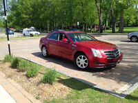 2008 Cadillac cts 3.6 toit ouvrant Berline tout equipe 88000 kil