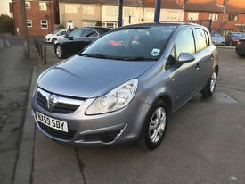 2009 Vauxhall Corsa 1.2 Active 1 OWNER 53,000 MILES, FULL HISTORY, HPI CLEAR