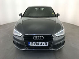 2014 AUDI A3 S LINE TDI DIESEL 1 OWNER SERVICE HISTORY FINANCE PX WELCOME
