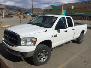 2007 Dodge 3500 4x4 Diesel 4 dr - Trade for Pickup