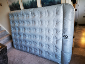 Air bed mattresses with inflater