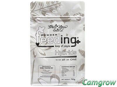 GreenHouse Powder Feed - Hybrid 1 Kg - Bag For Growth & Bloom Hydroponics