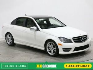 2014 Mercedes Benz C300 4MATIC TOIT PANORAMIQUE CUIR BLUETOOTH M