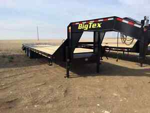 Big Tex Tandem Dual 30' Gooseneck Trailer