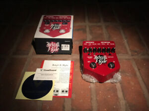 Jekyll and Hyde Overdrive Guitar Pedal