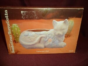 Terra Cotta cat Planter