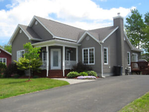 Custom built bungalow in Bouctouche