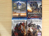 Transformers Blu Ray Collection