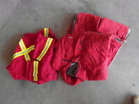 Red Coveralls