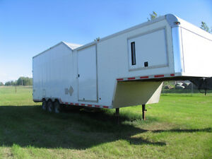 35' INSULATED 21000 LBS 2007 CARGO OR CAR TRAILER