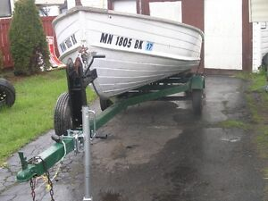 Boat   motor  trailer     Sold