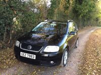 VW Touran 2.0TDi Sport 7 seater 140bhp Auto DSG 6 speed