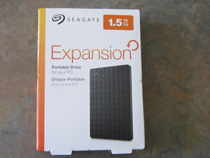 Seagate STEA1500400 1.5TB Expansion USB 3.0 Ext Portable Drive