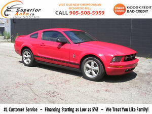 2007 Ford Mustang REDUCED 5 speed WE FINANCE EVERYONE