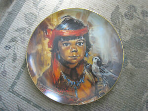 Collector Plate – Little Eagle by Don Ruffin