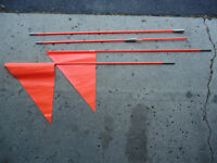 Two-Section Bike Safety Flags (2)